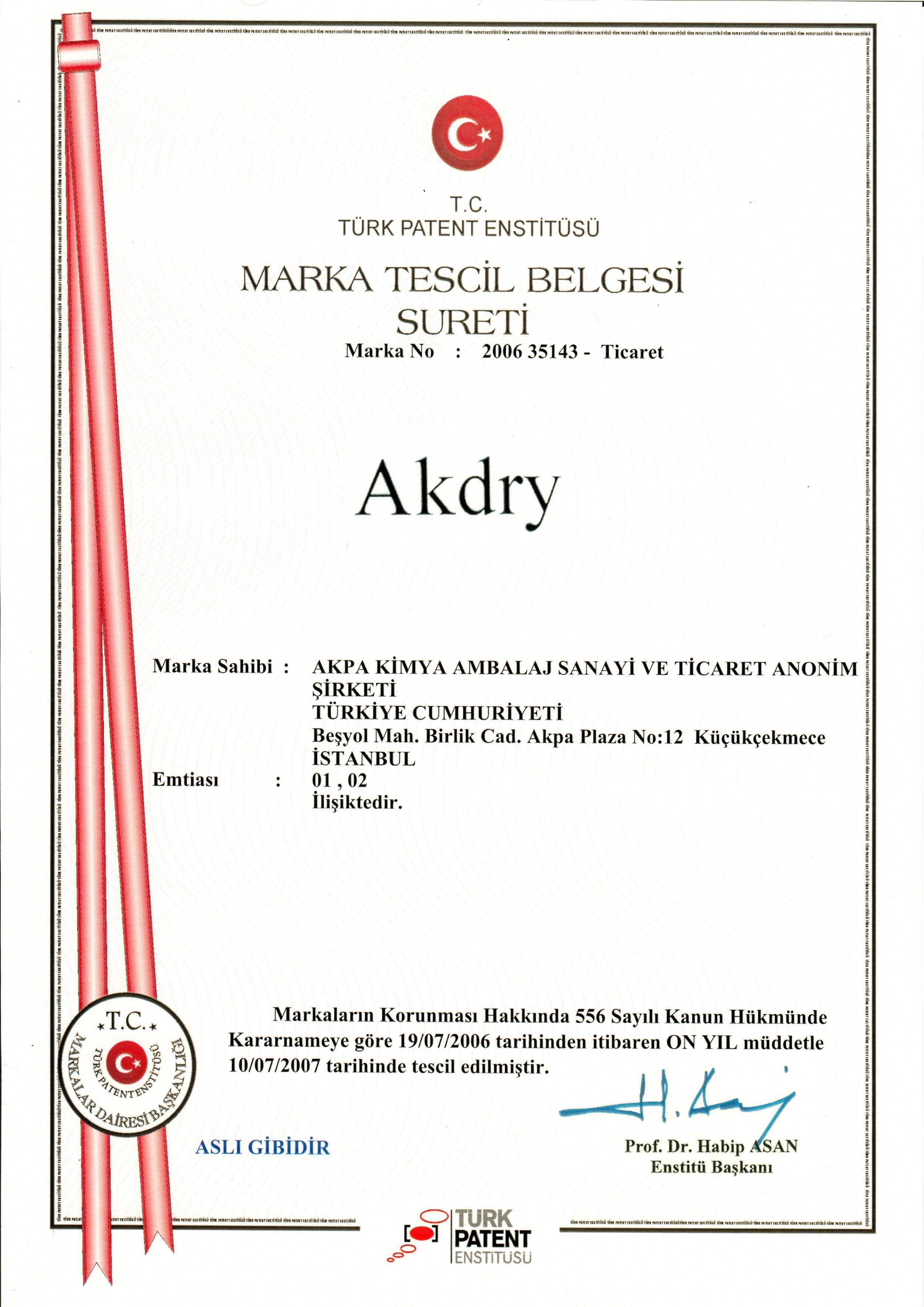 AKDRY®